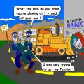 bulldoze bank color